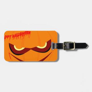 Nasty Pumpkin Luggage Tag