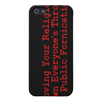 Nasty Religion Pushers iPhone 5 Cases