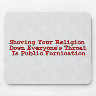 Nasty Religion Pushers Mouse Pads