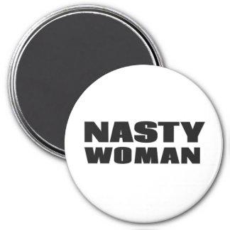 Nasty Woman 7.5 Cm Round Magnet