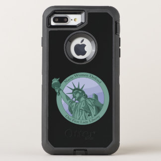 Nasty Woman First Lady Statue Of Liberty OtterBox Defender iPhone 7 Plus Case