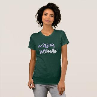 Nasty Woman Green T-Shirt