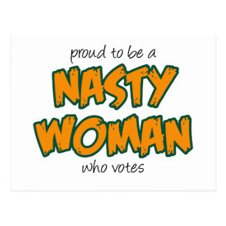 Nasty Woman Postcard