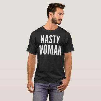 Nasty Woman Typography T-Shirt