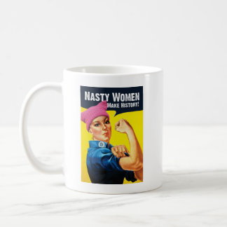 Nasty Women Make History Mug