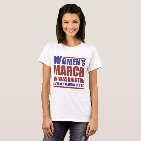nasty women march T-Shirt
