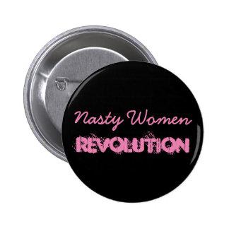 Nasty Women Revolution 6 Cm Round Badge