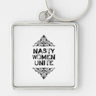 Nasty Women Unite Key Chain