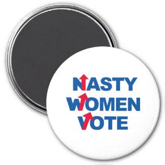 Nasty Women Vote -- Presidential Election 2016 -.p 7.5 Cm Round Magnet