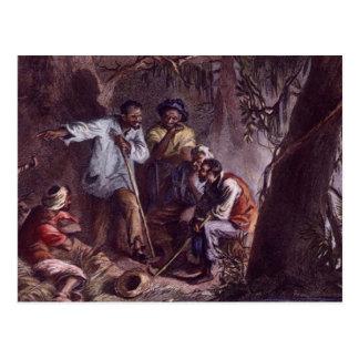 nat turner slave rebellion postcards