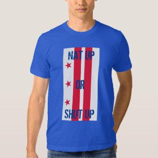 nat up or shut up flag tshirts