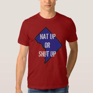 nat up or shut up map shirts