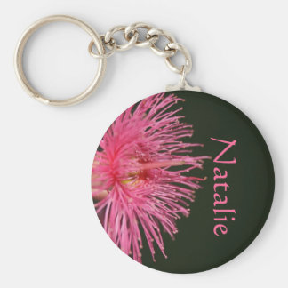 Natalie Australian Gum Nut Flower Name Gift Key Ring