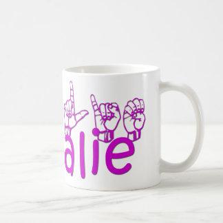 Natalie Basic White Mug