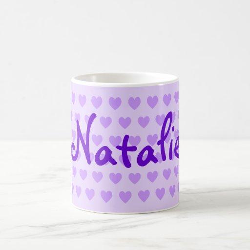 Natalie in Purple Mug