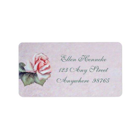 Natalie Rose Address Label