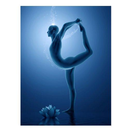 Natarajasana - Yoga Series Postcard