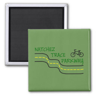 Natchez Trace Parkway Refrigerator Magnet