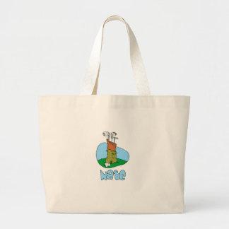 Nate Jumbo Tote Bag