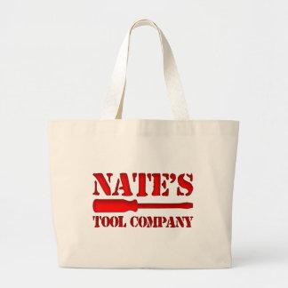 Nate's Tool Company Jumbo Tote Bag