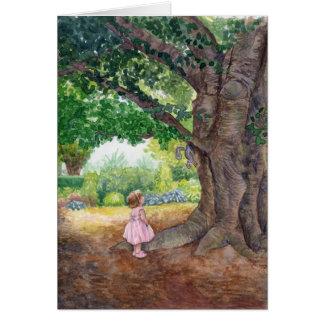 Nathalie at the old Beech Tree Card