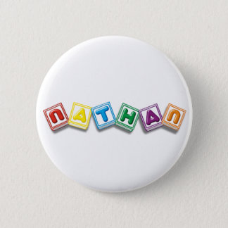 Nathan 6 Cm Round Badge