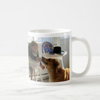 Nathan Feeds Reba Large Coffee Mugs