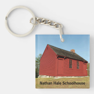 Nathan Hale Schoolhouse (East Haddam) Key Ring