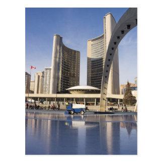 Nathan Phillips Square, Christmas, Toronto Postcard
