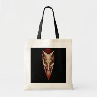 Nathan Satan Goes Shopping Budget Tote Bag