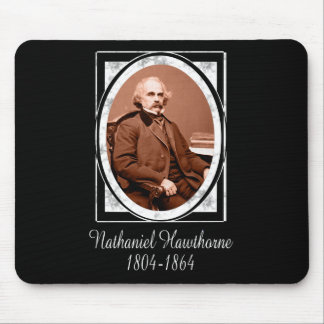 Nathaniel Hawthorne Mouse Pads