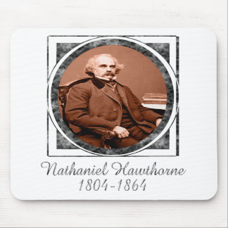 Nathaniel Hawthorne Mouse Mats