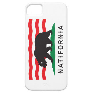 Natifornia - From Cincinnati to California Case Case For The iPhone 5