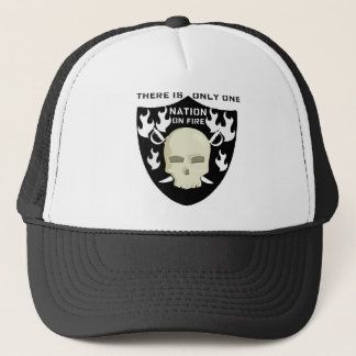 NATION ON FIRE - THERE IS ONLY ONE TRUCKER HAT