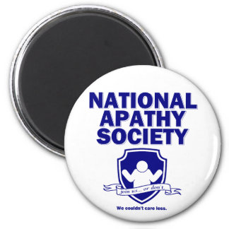 National Apathy Society Magnet