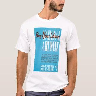 National Art Week 1938 WPA T-Shirt