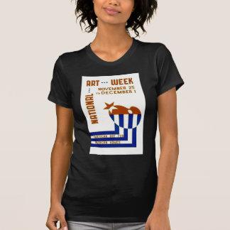 National Art Week  - WPA Poster - T-Shirt