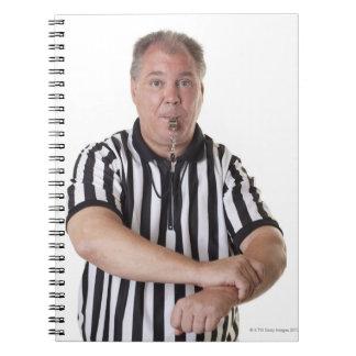 National Basketball Association (NBA) Holding Spiral Notebook