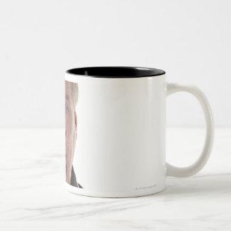 National Basketball Association (NBA) Holding Two-Tone Coffee Mug