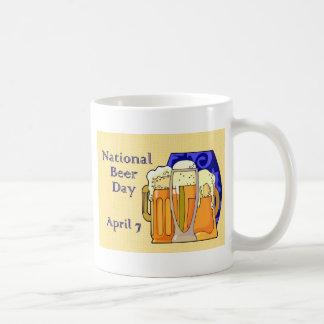 National Beer Day April 7 Basic White Mug