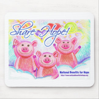 National Benefits for Hope Logo Mouse Pad