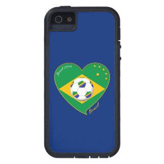 "National Brazilian football team. Soccer ""BRAZIL "" iPhone 5 Cases"