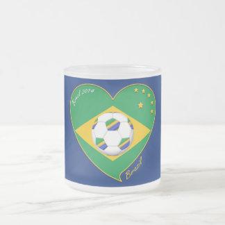 "National Brazilian football team. Soccer ""BRAZIL "" Coffee Mugs"