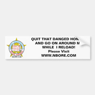 National Brotherhood Of Redneck Engineerin' Bumper Sticker