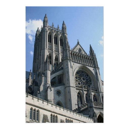 National Cathedral Poster