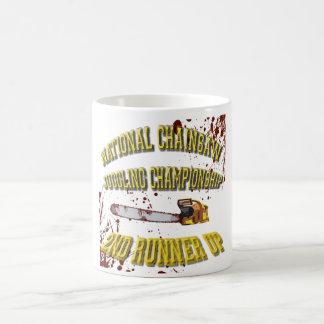National Chainsaw Juggling Championship Basic White Mug