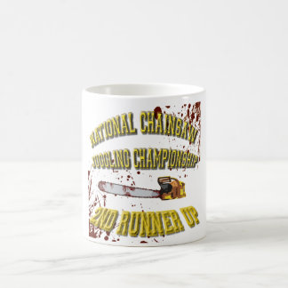 National Chainsaw Juggling Championship Coffee Mug