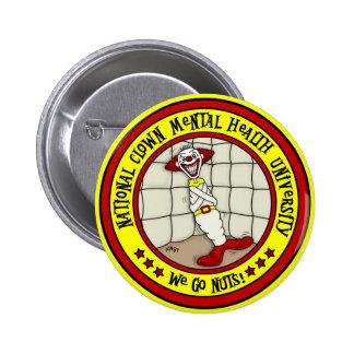 National Clown Mental Health University 6 Cm Round Badge