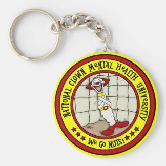 National Clown Mental Health University Key Ring