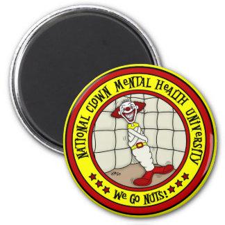 National Clown Mental Health University Fridge Magnet